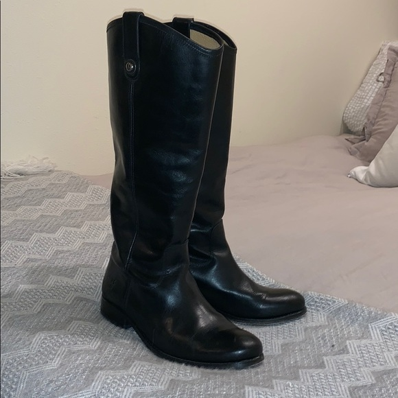 Frye Shoes - Frye Melissa Button Riding Boots